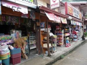 corner shops in town
