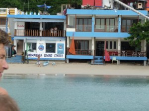 the divingshop on the beach