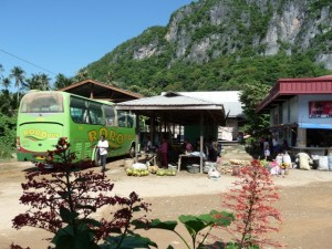the RoRo bus station