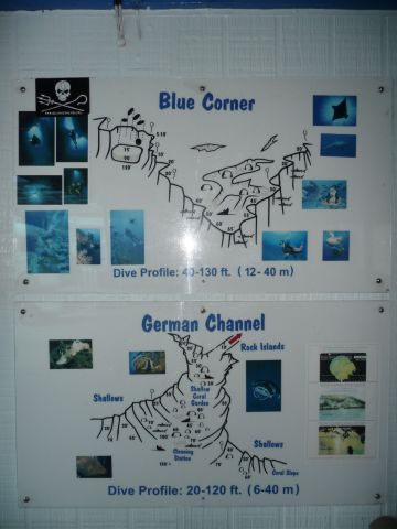 best-liked diving spots