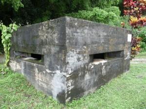 a japanese bunker