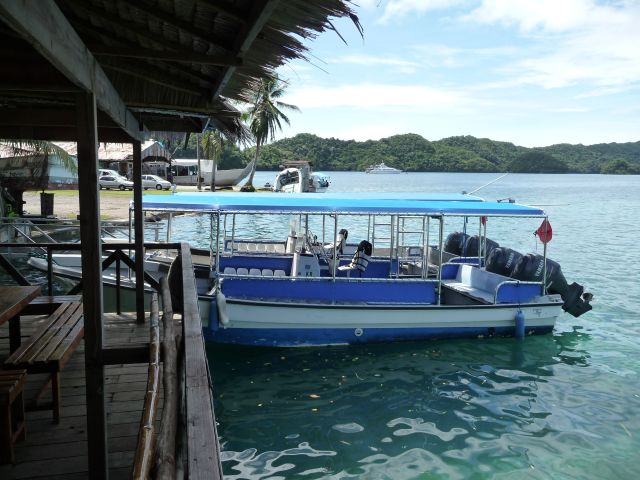te diving boats