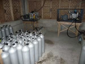 Compressor house