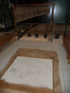 the traditional (one-linie) sanddrawings