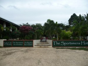 my first accommodation on Efate in Port Vila