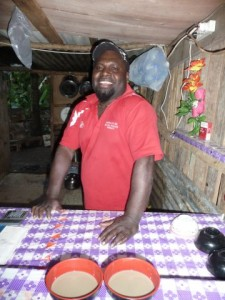 the barman from the Kava-Bar