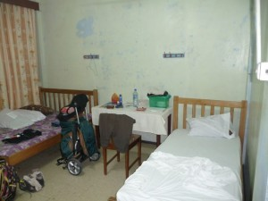 the dorm in the United Church Hostel