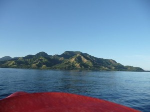 the view to Guadalcanal, coming back from Savo Island (the short way)