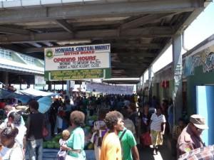 the Honiara Central Market