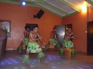 "we saw twice a ""Polynesian fire dance-show"""