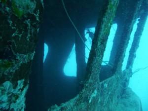 Salamada wreck dive
