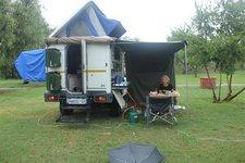 Camper-Regen
