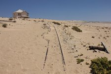 Kolmanskop-Schienen
