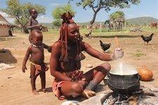 Himba-Kochen