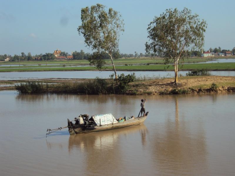 Wasserstraße im Khmer-Style.