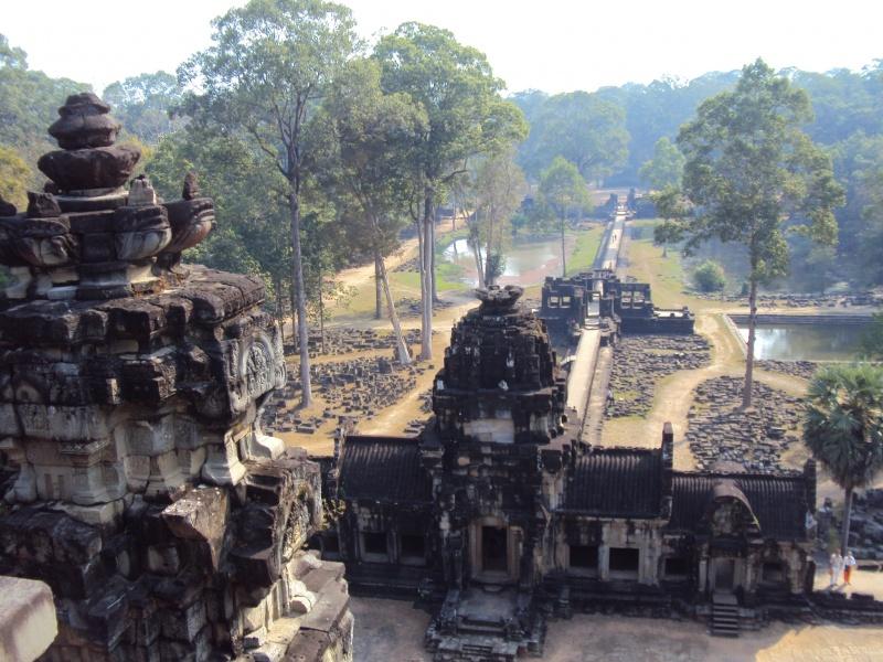 Der Baphuontempel in Angkor Thom.