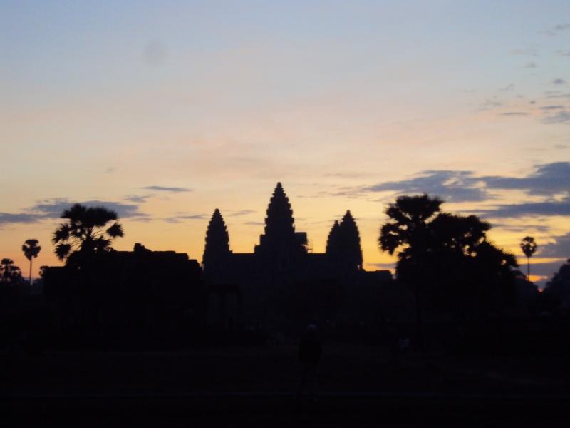 Früh aufstehen lohnt sich: Angkor Wat morgens um 6.