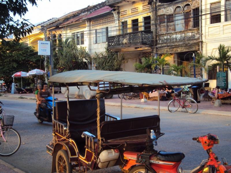 Kampot, Zentrum.