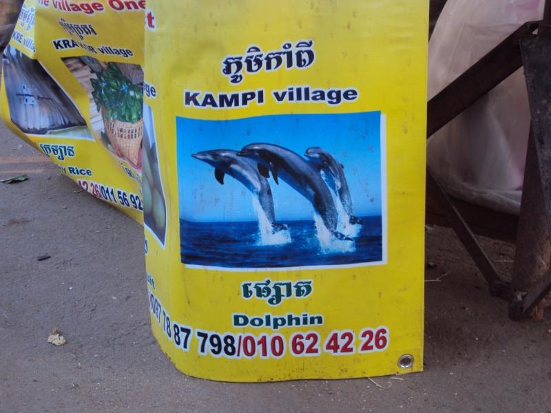 Im Übrigen finde ich es durchaus angemessen, dass ein Khmer-Dorf nach mir benannt wird. Zumal es da auch noch seltene Irrawadi-Delfine gibt. Wegen Zeitmangel kann ich den Ort jedoch nicht beehren.