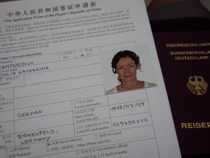 "Mein Visumsantrag - ""wolle mer se roilasse?"""