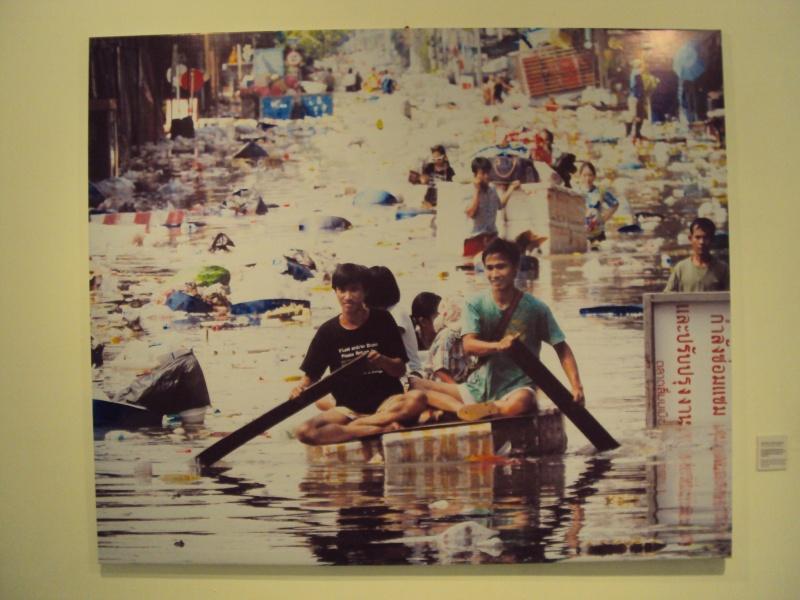 Im Oktober 2011 sah es so aus in Bangkok. Die große Flut, mitten in der Stadt.