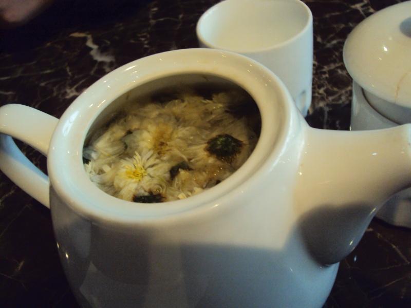 Zum Aufwärmen: Immer Chrysanthementee im Bauch haben.