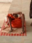 Pushkar – Sadhu haelt ein Nickerchen