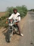 Bundi - ich auf dem Bike