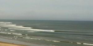 Perfekte Wellen von Chicama
