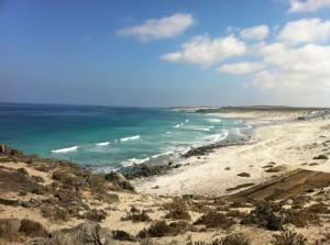 Leere Beachbreaks bei Punta de Choros