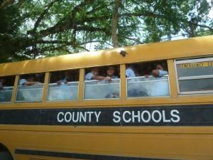Schulbus von Guatemala