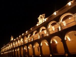 Plaza Mayor a la noche