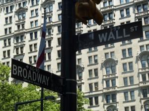Ecke Broadway Wallstreet