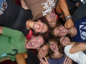 Yomamas Crew bei Partynacht