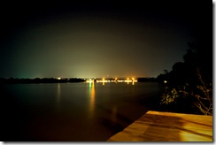 Kampot at night