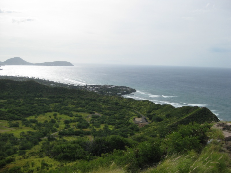 Blick vom Diamond Head aufs Meer