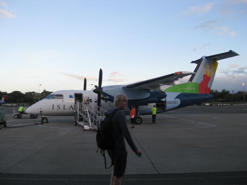 Boarding Molokai
