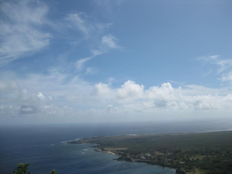 Unser Blick auf Kalaupapa