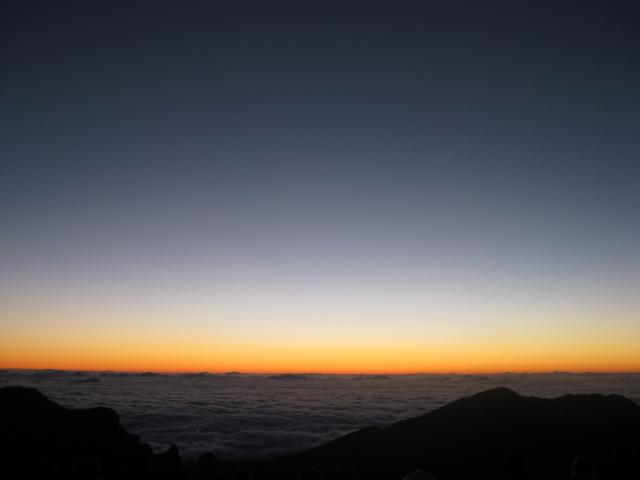 Sonnenaufgang Haleakala