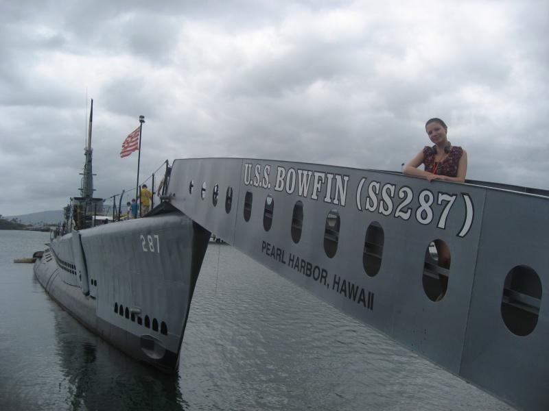 Sina in Pearl Harbor