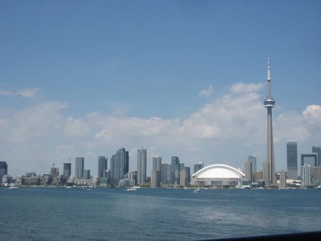 Torontos Skyline - rechts der CN Tower
