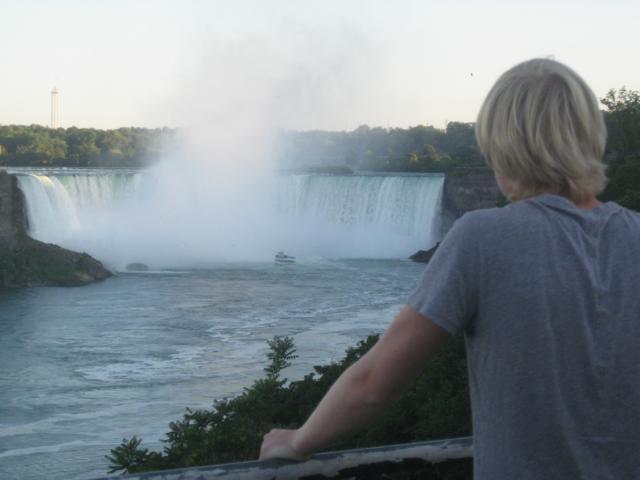 Angekommen in Niagara Falls