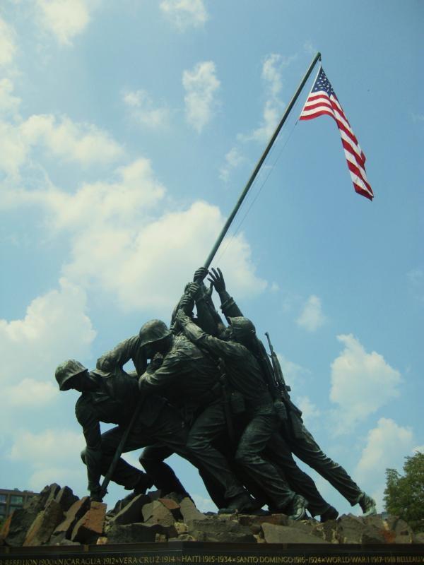 Iwo-Jima-Denkmal