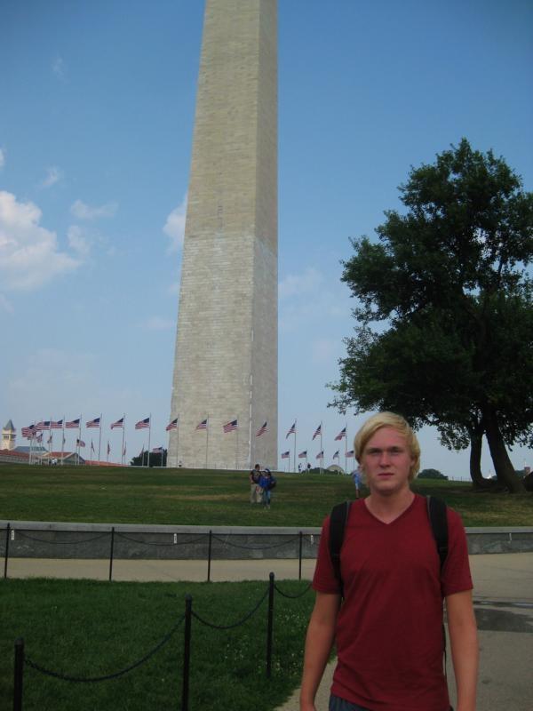Sightseeing in der Stadt, Washington Monument