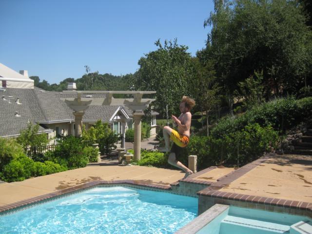 Die Thomasbombe in Gary's Pool