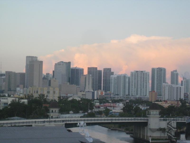 Miamis Skyline