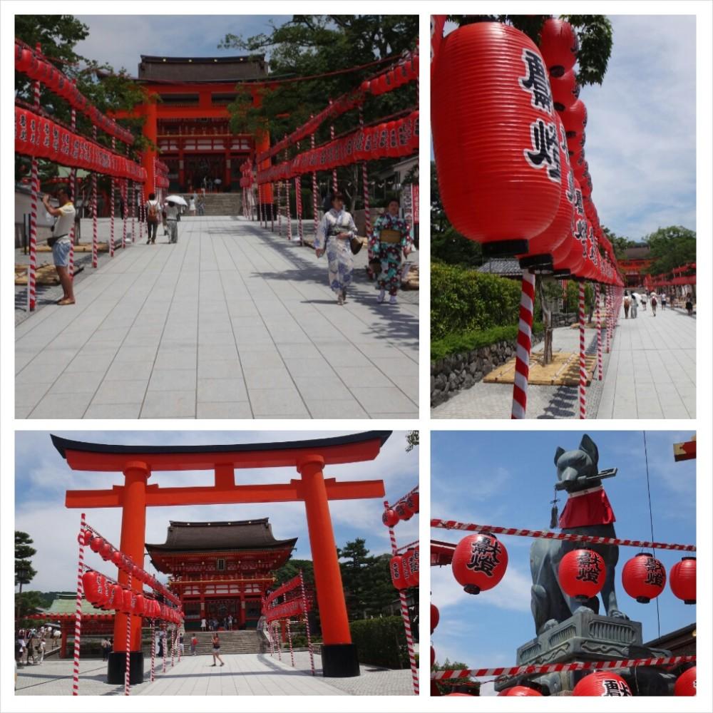 Eingang Inari-Schrein
