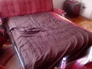 Meine Bettstatt in Beograd...