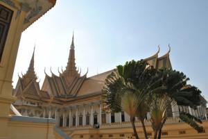 Am Gelände des Königspalastes