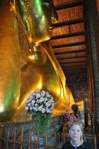 ...der liegende Buddha